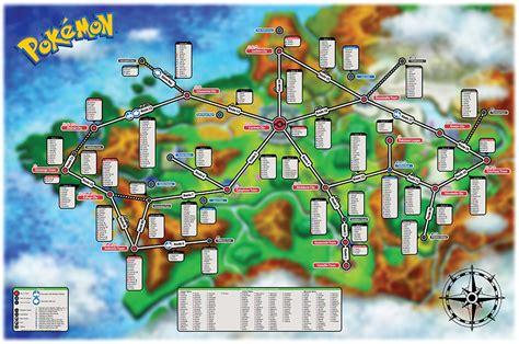Pokémon X/y Creature Map