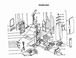 Hoover U3721910 Upright Vacuum Parts