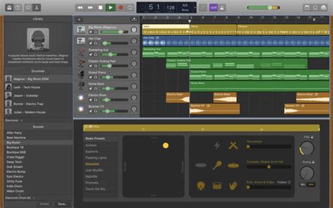 Garage Band by Garageband For Mac Update Adds Touch Bar Support More