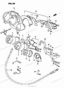 Suzuki Motorcycle 1995 Oem Parts Diagram For Speedometer