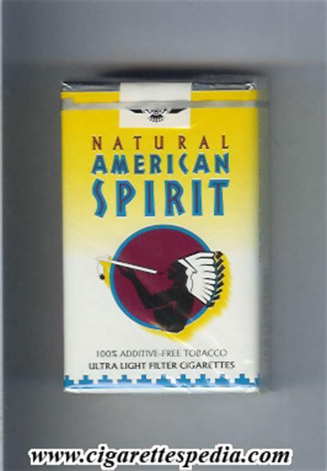 American Spirit Light by American Spirit Ultral Light Ks 20 S White And