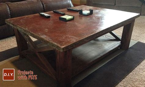 concrete coffee table diy how to make a concrete coffee table with a trowel finish