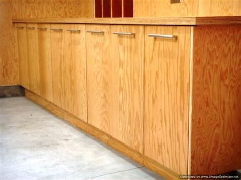 plywood garage cabinets  woodworking