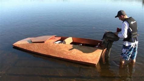 Build A Boat by How To Build A Boat Tu 9 Tunnel Hull Hd Doovi