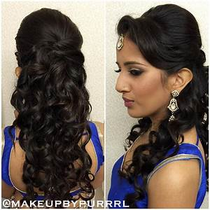 27 Best Hairstyles for Sarees in 2017: New ideas you will love!!!