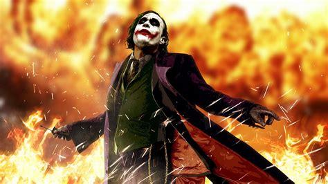 Joker Anime Wallpaper - anime heath ledger joker batman the