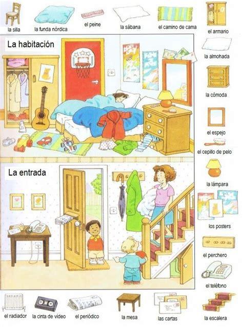 vocabulaire de la chambre la habitación vocabulario ele