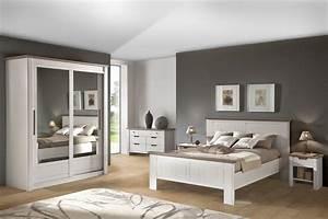 Dcoration Chambre Meuble Bois Exemples D39amnagements