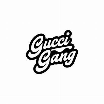 Gucci Gang Sticker Decal Stickers Lil Pump