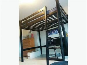 Ikea Stora Hochbett : black ikea stora loft bed full size outside ottawa gatineau area ottawa ~ Orissabook.com Haus und Dekorationen