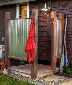 25 best ideas about outdoor showers on pinterest pool With fantastic ideas for outdoor shower enclosure in garden