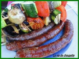 Que Faire Au Barbecue Pour Changer : saucisses merguez et brochettes de legumes quand ~ Carolinahurricanesstore.com Idées de Décoration