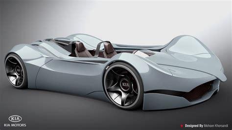 Techcracks  Kia Shift Concept Car By Mohsen Khorsandi