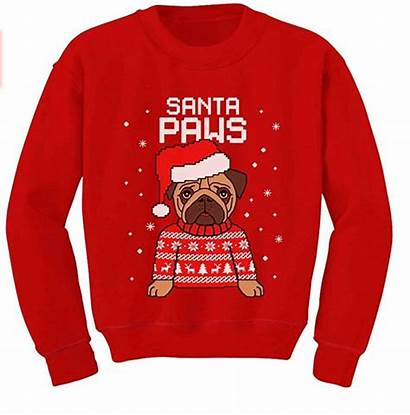 Ugly Sweater Sweaters Santa Babies Paws Toddler