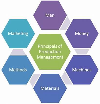Management Production Principles Basic Marketing Process Manufacturing