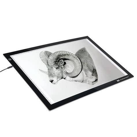light box drawing voilamart a2 led tracing light box stencil drawing board
