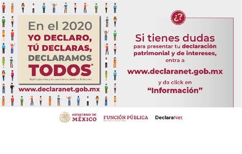 Haz tu Declaración Patrimonial 2020   Colegio Nacional de ...