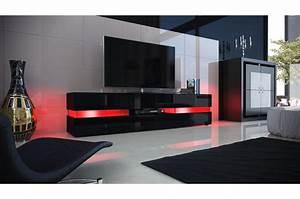 Meuble Tele Bas : meuble tele bas laque noir solutions pour la d coration int rieure de votre maison ~ Teatrodelosmanantiales.com Idées de Décoration