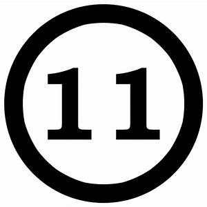 Number 11 Clip Art - ClipArt Best