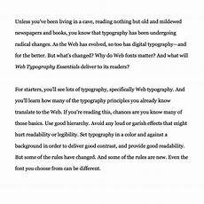 Paragraph Spacing « Fontscom