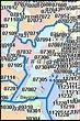 HUDSON County, New Jersey Digital ZIP Code Map