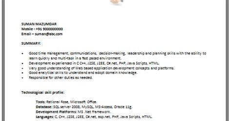Resume Ca Java Server Framework by 10000 Cv And Resume Sles With Free Cv