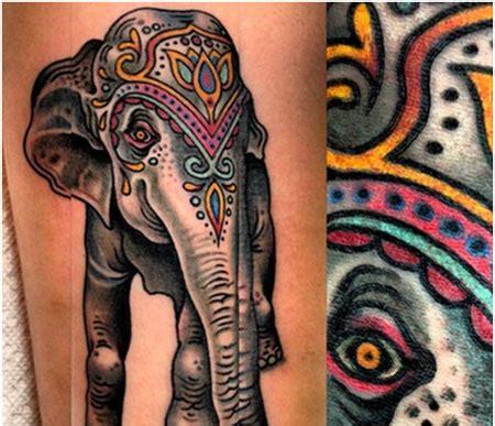 top  elephant tattoo designs