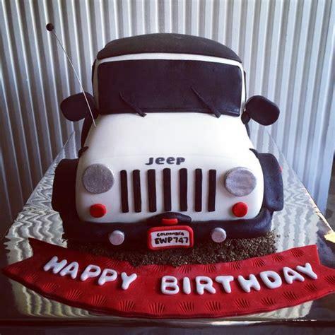 happy birthday jeep jeep cake klaudiaparra madecake pinterest cakes