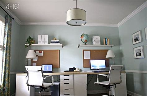 two person desk diy 16 home office desk ideas for two