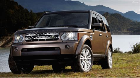 land rover brown land rover discovery 2010 in brown near hills wallpaper