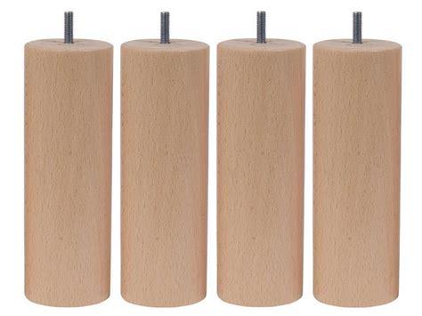 pied de lit conforama jeu de 4 pieds h20 cm bar coloris naturel vente de pied de lit conforama