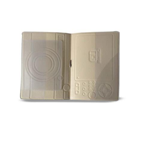 Travel Wallet Passport Holder Cover Camera Design Finga