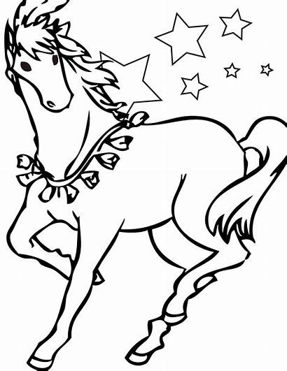 Horse Coloring Pages Horses Printable Odd Dr