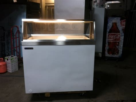 used ice cream dipping cabinet riester refrigeration ice cream dipping cabinet