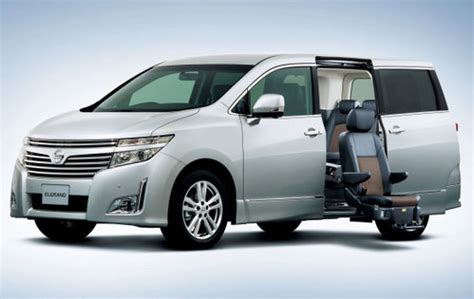 luxury minivan 2011 nissan elgrand luxury minivan