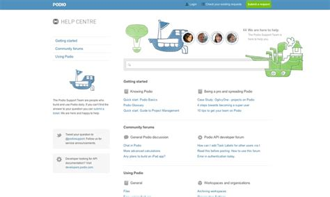 podio help desk 85 best ideas about beautiful help centers on