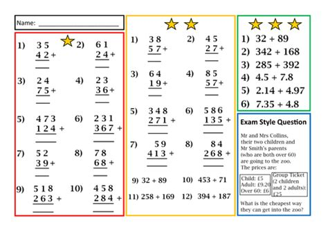 division worksheets differentiated differentiated division written methods worksheet by prof689 uk teaching resources tes