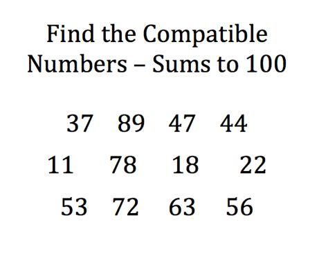 how to add fractions compatible pairs for building number sense focus on math
