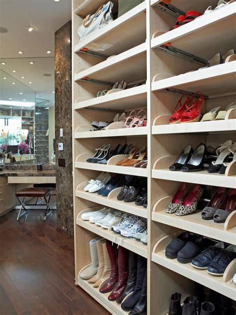 closet ideas for shoes photos hgtv