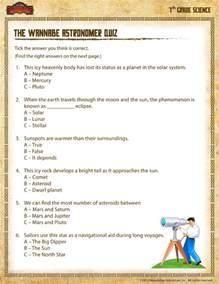 7th Grade Science Printable Worksheets