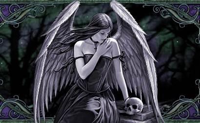 Gothic Fantasy Desktop Wallpapers Stokes Anne Skulls