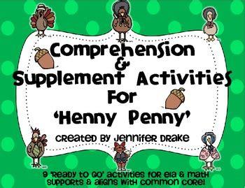 henny comprehension amp supplement activities color 199 | original 538938 1