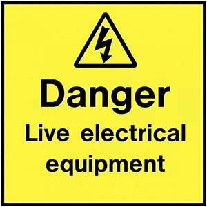 danger live electrical equipment electrical label With electrical equipment labels