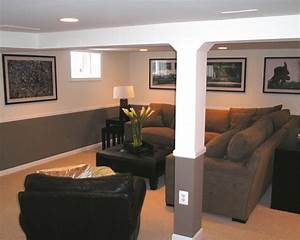 33 inspiring basement remodeling ideas home design and for Basement living room ideas