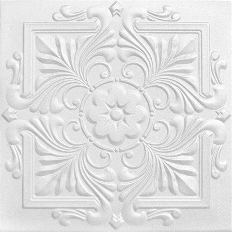 a la maison ceilings victorian 1 6 ft x 1 6 ft foam glue