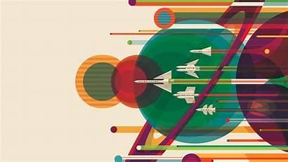 Nasa Wallpapers Background Retro Poster Desktop Rocket