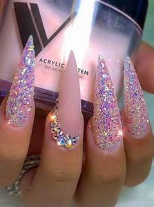 stiletto nails designs and acrylic nails ideas 2020