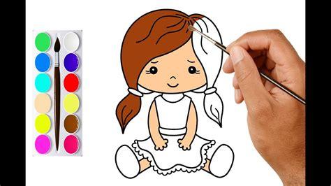 draw  girl easy  cute draw cute doll