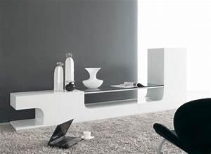 Meuble Tv Bas Design Discount