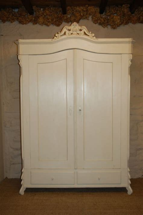Armoire Linen Cupboard by Antique Continental Louis Philippe Armoire Linen
